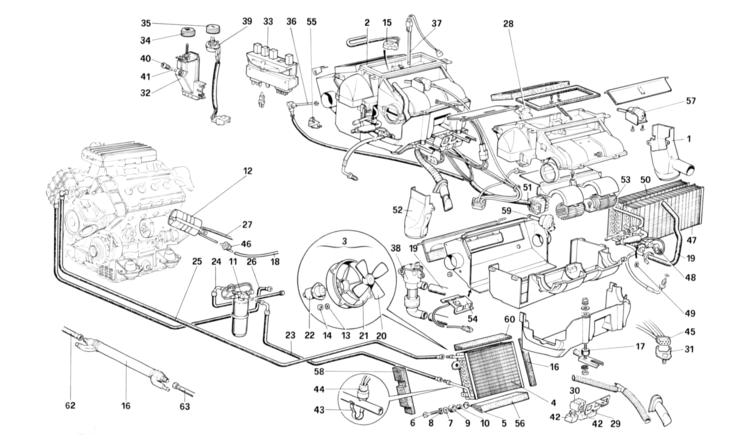 Algar Ferrari Parts : 3.2 Mondial : Part Number 61079000