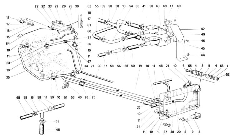 algar ferrari parts   308 gtb  gts qv   table 18