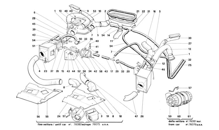 Algar Ferrari Parts   328 Gtb  Gts   Table 130