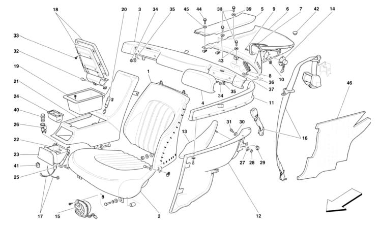 Pleasing Ferrari 456M Gt Gta Wiring Diagram Ferrari 250 Gto Ferrari 599 Gtb Wiring Database Rimengelartorg