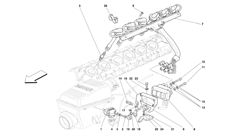 Algar Ferrari Parts : 456 GT/GTA : Part Number 155788 on ferrari 456 headlight conversion, ferrari 308 wiring diagram, ferrari mondial wiring diagram,