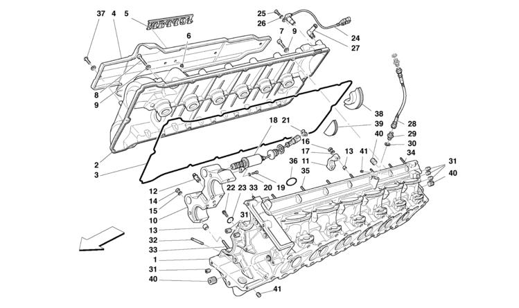 Algar Ferrari Parts : Enzo Ferrari : Part Number 16100812