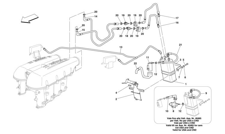 Algar Ferrari Parts F430 Spider Table 12