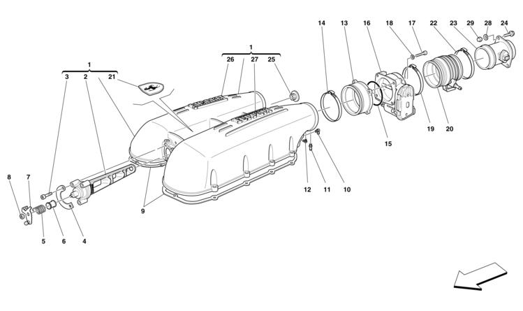 Algar Ferrari Parts F430 Part Number 214959