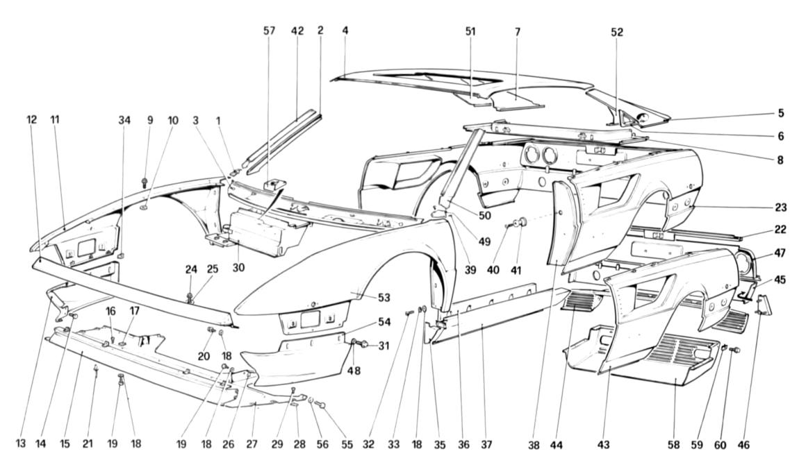 Algar Ferrari Parts : Mondial 8 : Part Number 70543200