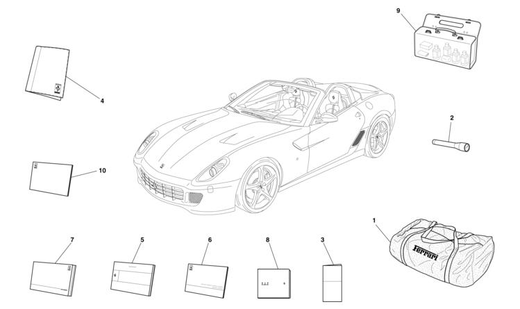 Algar Ferrari Parts Sa Aperta Part Number 84087800