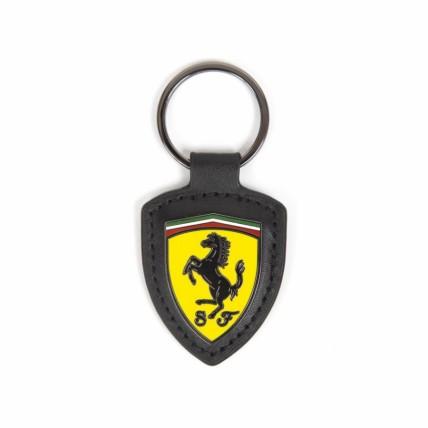 Ferrari Leather Keychain