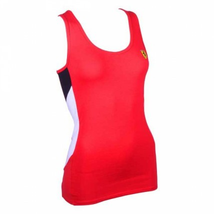 Ferrari Ladies V-Neck Tee Shirt