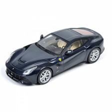 Hot Wheels 1/43 Elite Ferrar F12 Berlinetta Blue Pozzi-S/O