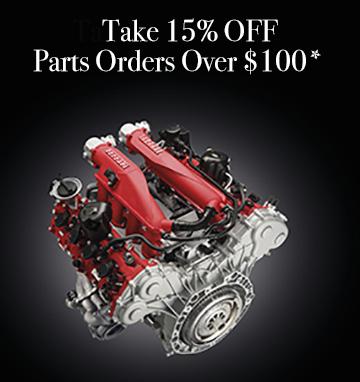 Parts Promo 15% Off